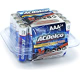 ACDelco AAA Batteries, Super Alkaline AAA Battery, High Performance, 24 Count Pack