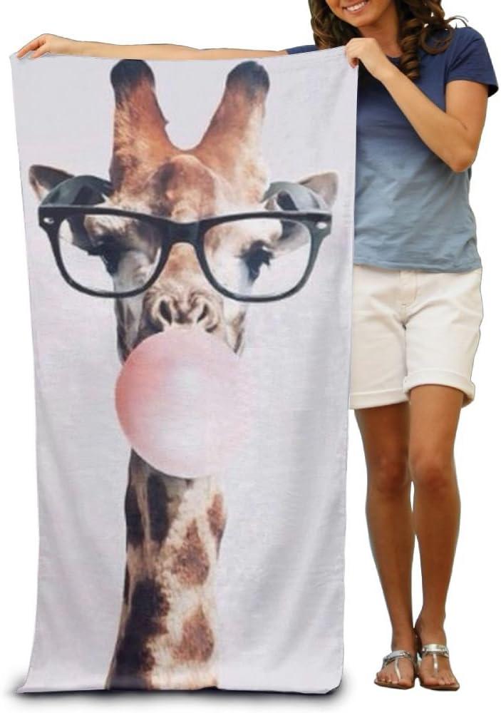 Giraffe Large Animal King Large Beach Towel Pool Towels
