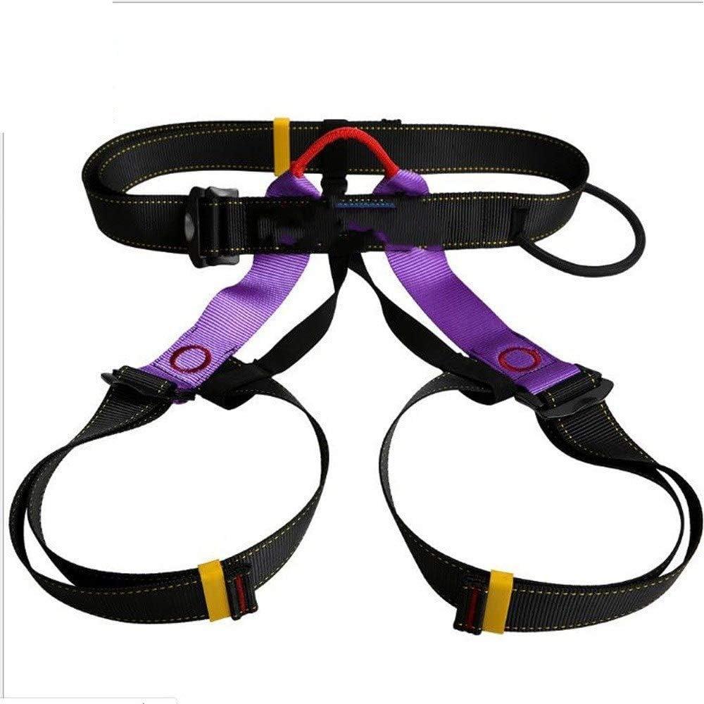 SuoYn Cuerda Polea Cinturón De Seguridad Escalada Resistente Arnés ...