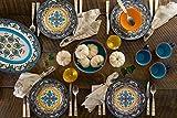 Euro Ceramica Zanzibar Collection 16 Piece