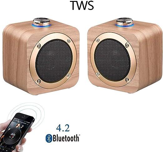Speaker-EJOYDUTY 2-Pack TWS Surround Altavoces estéreo, Mini ...