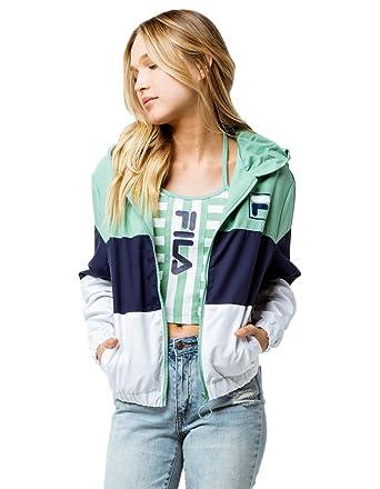 Fila Womens Luella Woven Wind Jacket: Amazon.es: Ropa y ...