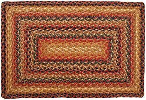 Home Spice Jute Braided Rugs Rectangle Timber Trail 27 x45