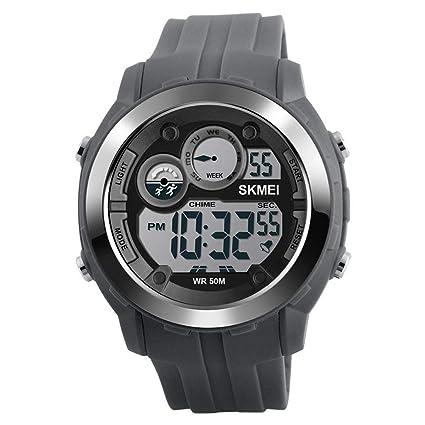 DSADDSD # Reloj Digital Impermeable para Hombre Reloj Deportivo para Hombre Trend Trend Reloj Deportivo Multifuncional
