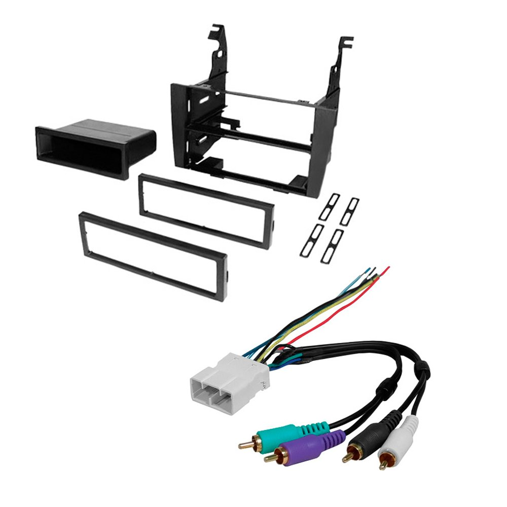Amazon.com: CAR STEREO RADIO KIT DASH INSTALLATION MOUNTING TRIM BEZEL W/ WIRING  HARNESS FOR LEXUS 1992-1996 ES300: Car Electronics