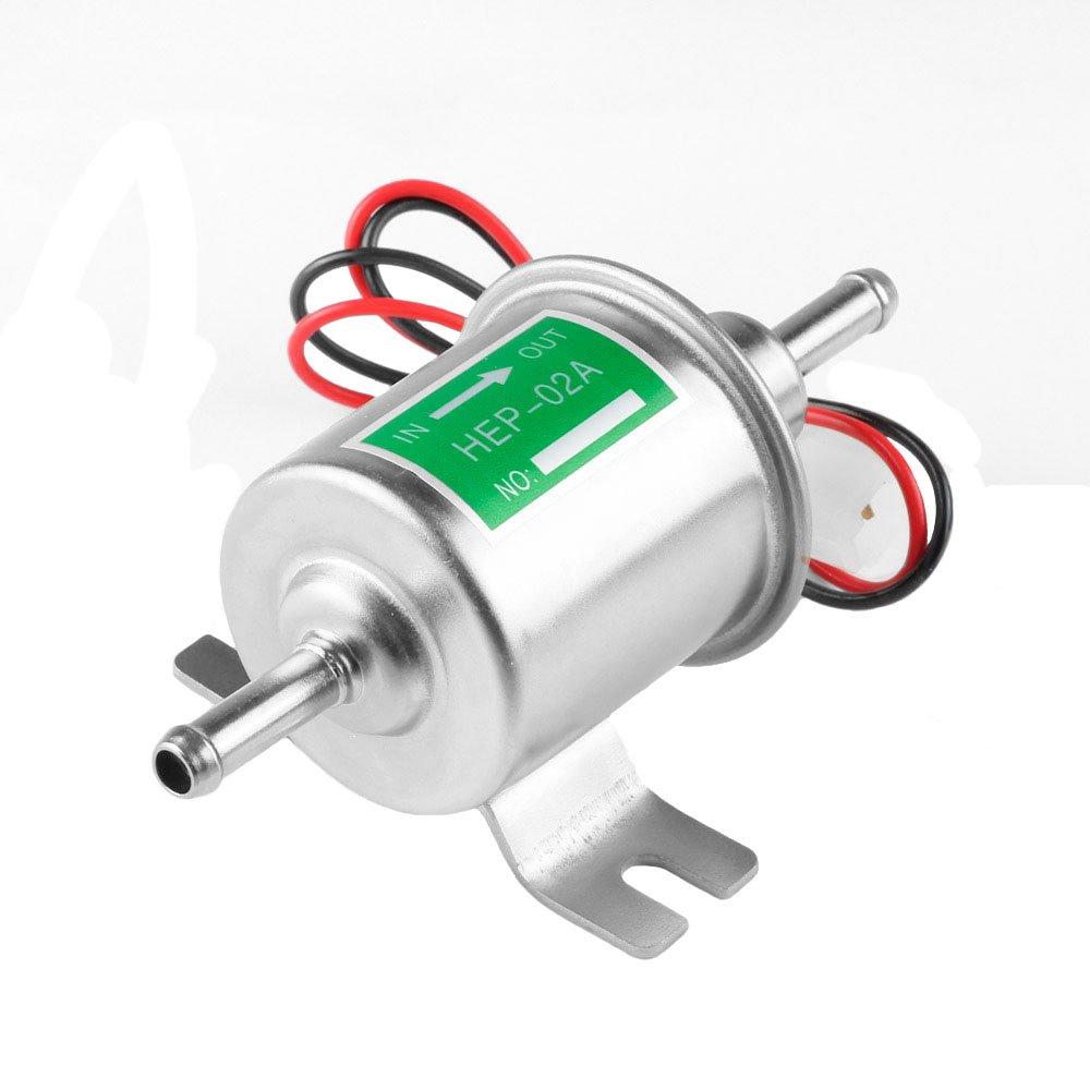 Universal Automotive Modifié HEP-02A 12V Heavy Duty Pompe à carburant électrique Métal Pour Essence et diesel vientiane