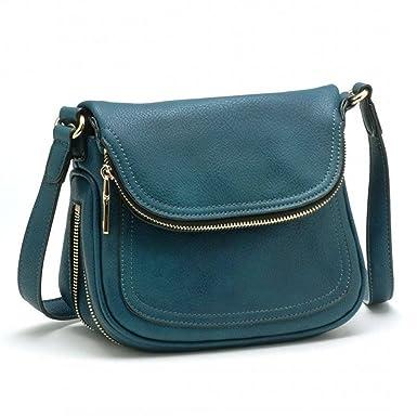 5ccf2e3ce257 Tosca Expandable Cross-body Handbag (Green)  Handbags  Amazon.com