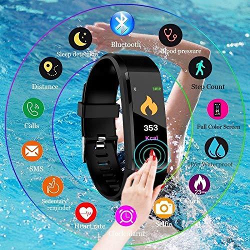 Amazon.com: Smart Watch Pedometer Digital Sport Wrist Relojes De Hombre for iOS Android: Cell Phones & Accessories