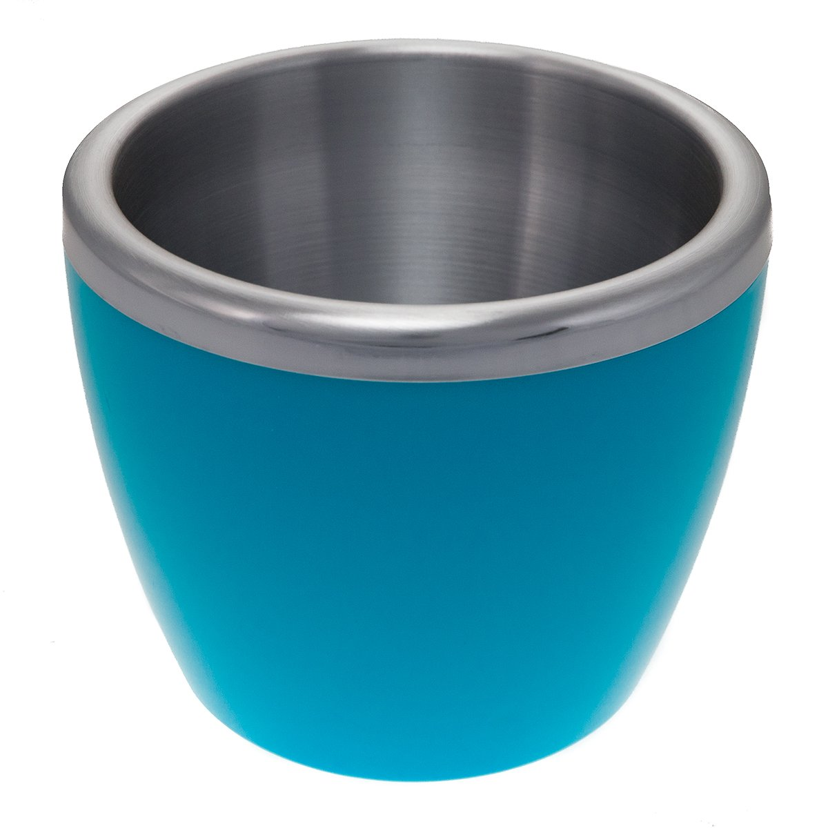 EdgeHome 4 Pack Mini Small Ice Buckets Double Wall Stainless Steel Insulated Pink Green Blue Orange