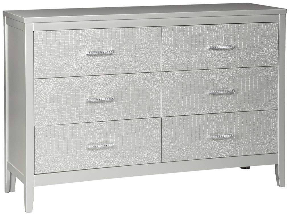 Ashley Furniture Signature Design - Olivet Dresser - Silver