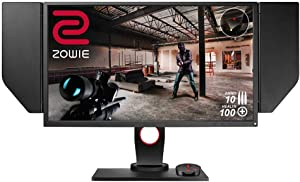 BenQ ZOWIE XL2740 27 inch 240Hz Gaming Monitor with G-Sync Compatible/ Adaptive Sync | 1080p 1ms | Black Equalizer for Competitive Edge | S-Switch for Custom Display Profiles | Shield