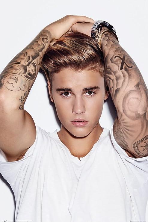 Grupo Erik Editores Justin Bieber Hair Poster, Madera, Varios ...