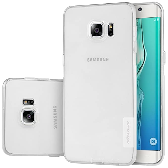 Nillkin Carcasa de TPU para Samsung Galaxy S6 Edge Plus - Blanco