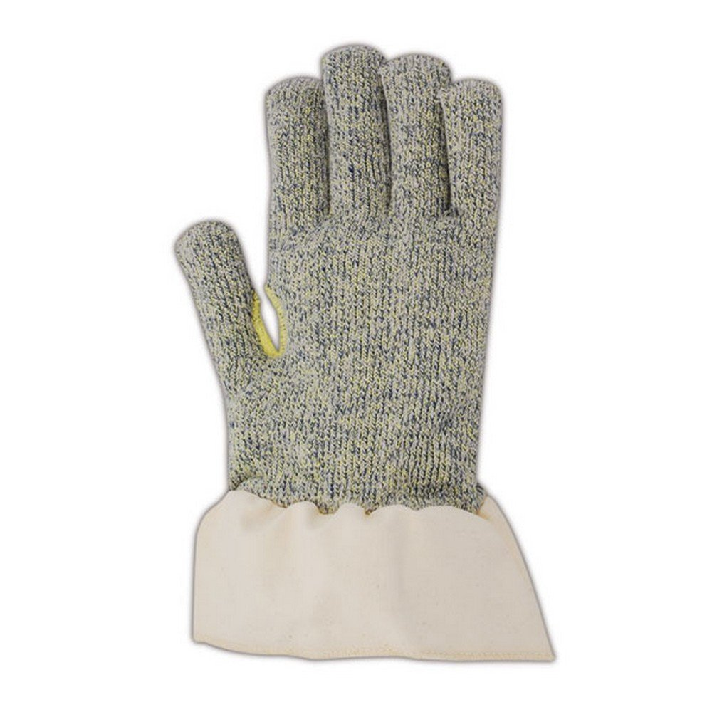 Magid Glove & Safety R3690TD Magid Cut Master Machine Knit Terrycloth Gloves, Made with DuPont Kevlar 3000, 9, Gray , Men's (Fits Large) (Pack of 12)