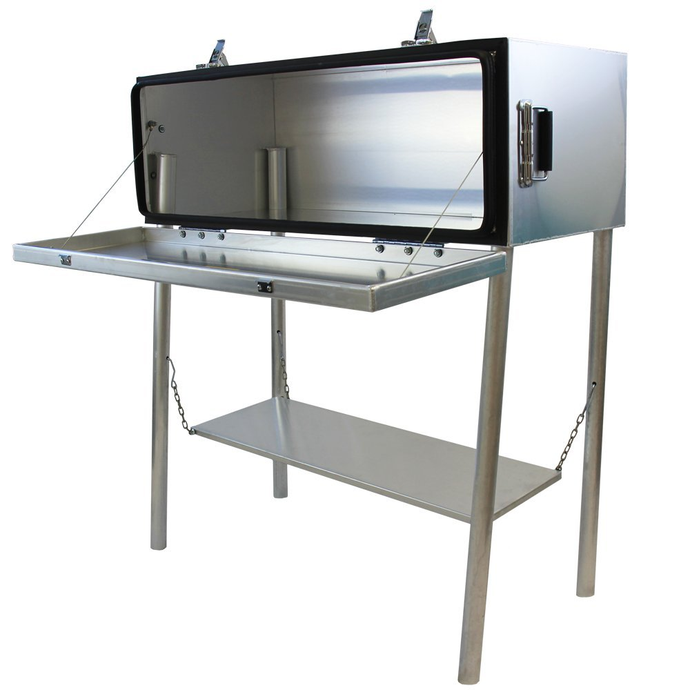 amazoncom frontierplay aluminum kitchen dry box storage sports outdoors - Camp Kitchen Box