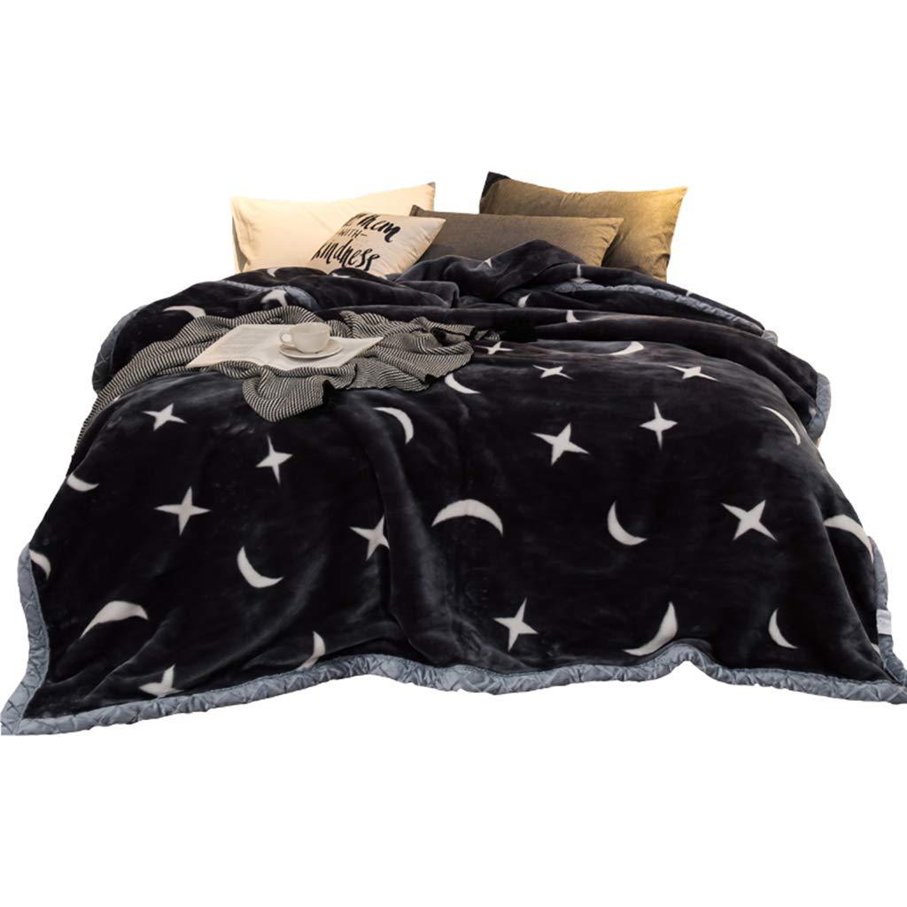 BNBO-L Verdickende Decke, Multifunktions-Sofa-Schlafzimmer-Bett-Futter-Winter-einzelne Decke kreative Studenten-Decke (größe   180  220CM)