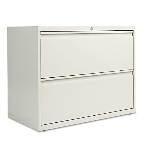 Alera LF3629LG Two-Drawer Lateral File Cabinet, 36w X 19-1 4d X 28-3 8h, Light Gray