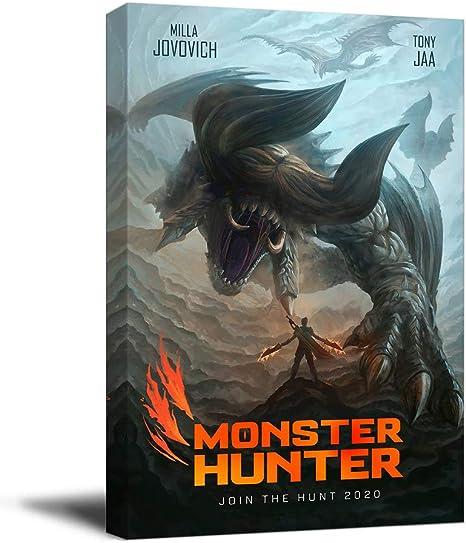 Stampa su tela di Monster Hunter 2020, 30,5 x 45,7 cm ...