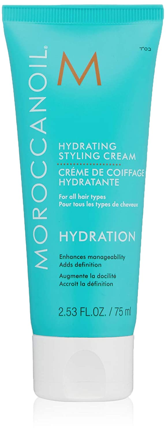 Moroccanoil Hydrating Styling Cream, Travel Size, 2.53 Fl Oz: Premium Beauty