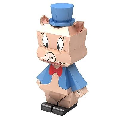 Fascinations Metal Earth Looney Tunes Porky Pig 3D Metal Model Kit: Toys & Games