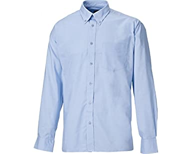 Dickies SH64200-LB-17 Oxford - Camisa de manga larga, talla 17, color azul claro: Amazon.es: Industria, empresas y ciencia