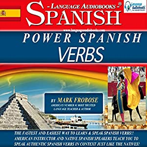 Power Spanish Verbs: English and Spanish Edition Audiobook