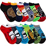 Star Wars 6 Pairs of Boys Low Cut No Show Socks By Planet Sox For Kids Toddlers