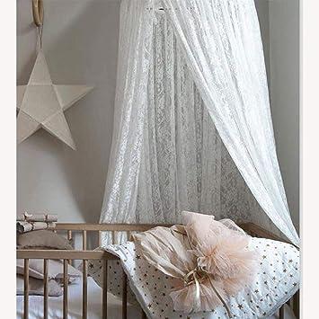 100/%Coton Minetom Ciels de Lit pour Enfant Baldaquin Ciel de Lit Moustiquaire Lit /à baldaquin pour b/éb/é d/écoration de chambre /à coucher