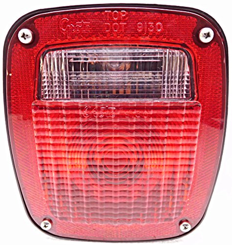 Grote Lens (New Grote 1967-1983 Ford Light-Medium Truck Rear Taillight Taillamp Tail Light)
