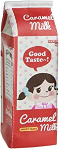 8 Colors,Large Capacity Cute Milk Carton Pencil Cases Box Cosmetic Bag with Zipper by Warmword (Red)