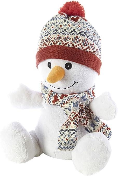 Intelex – Peluche de muñeco de nieve – para microondas/se puede ...