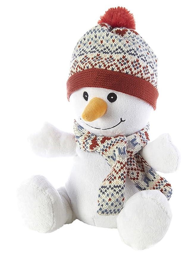 Intelex - Peluche de muñeco de nieve - para microondas/se puede ...