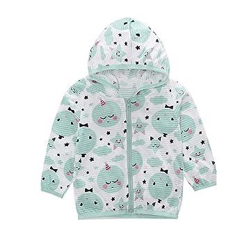a6077fea6 Amazon.com  Toddler Kids Summer Sunscreen Jackets