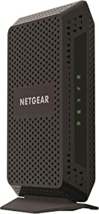 NETGEAR Cable Modem CM600 - Compatible with All Cable Providers Including Xfinity by Comcast, Spectrum, Cox | for Cable Plans Up to 400 Mbps | DOCSIS 3.0 (Renewed)