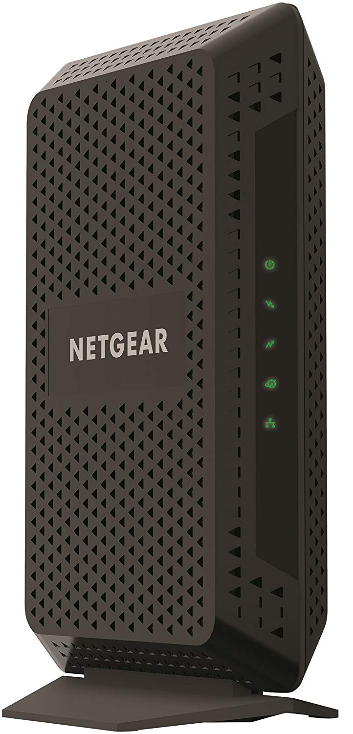 NETGEAR Cable Modem CM600 - Compatible with All Cable Providers Including Xfinity by Comcast, Spectrum, Cox | for Cable Plans Up to 400 Mbps | DOCSIS 3.0 (Renewed) by NETGEAR