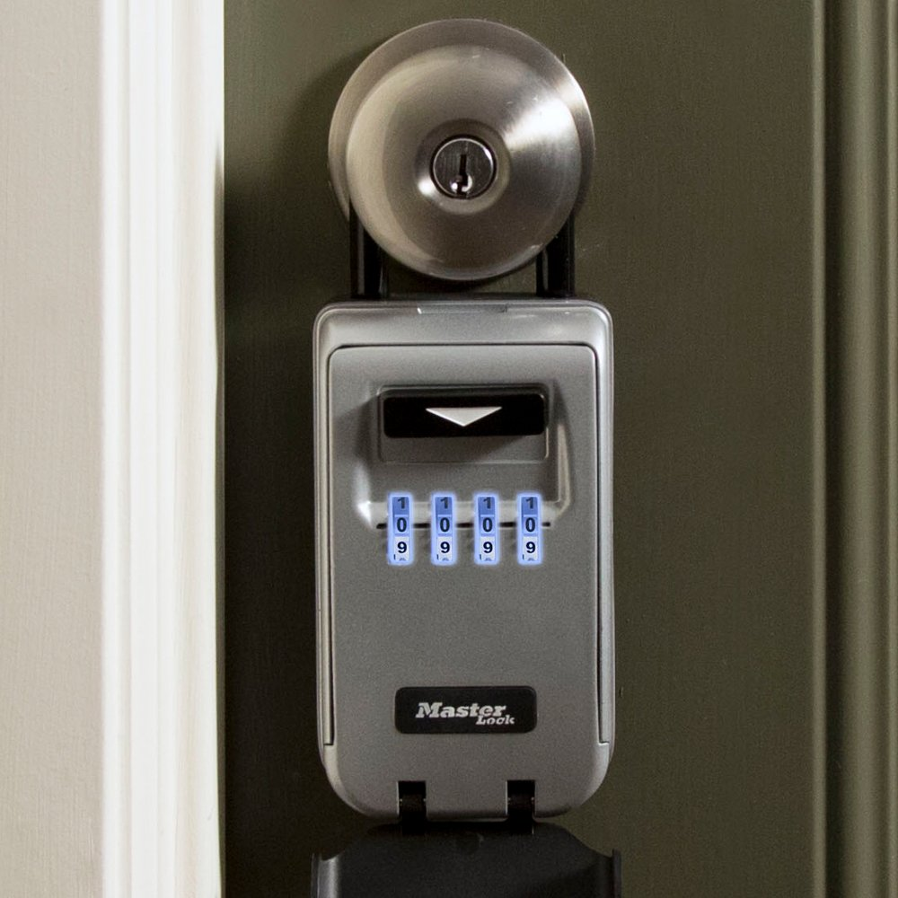 Master Lock Lock Box, Set Your Own Combination Portable Key Safe ...