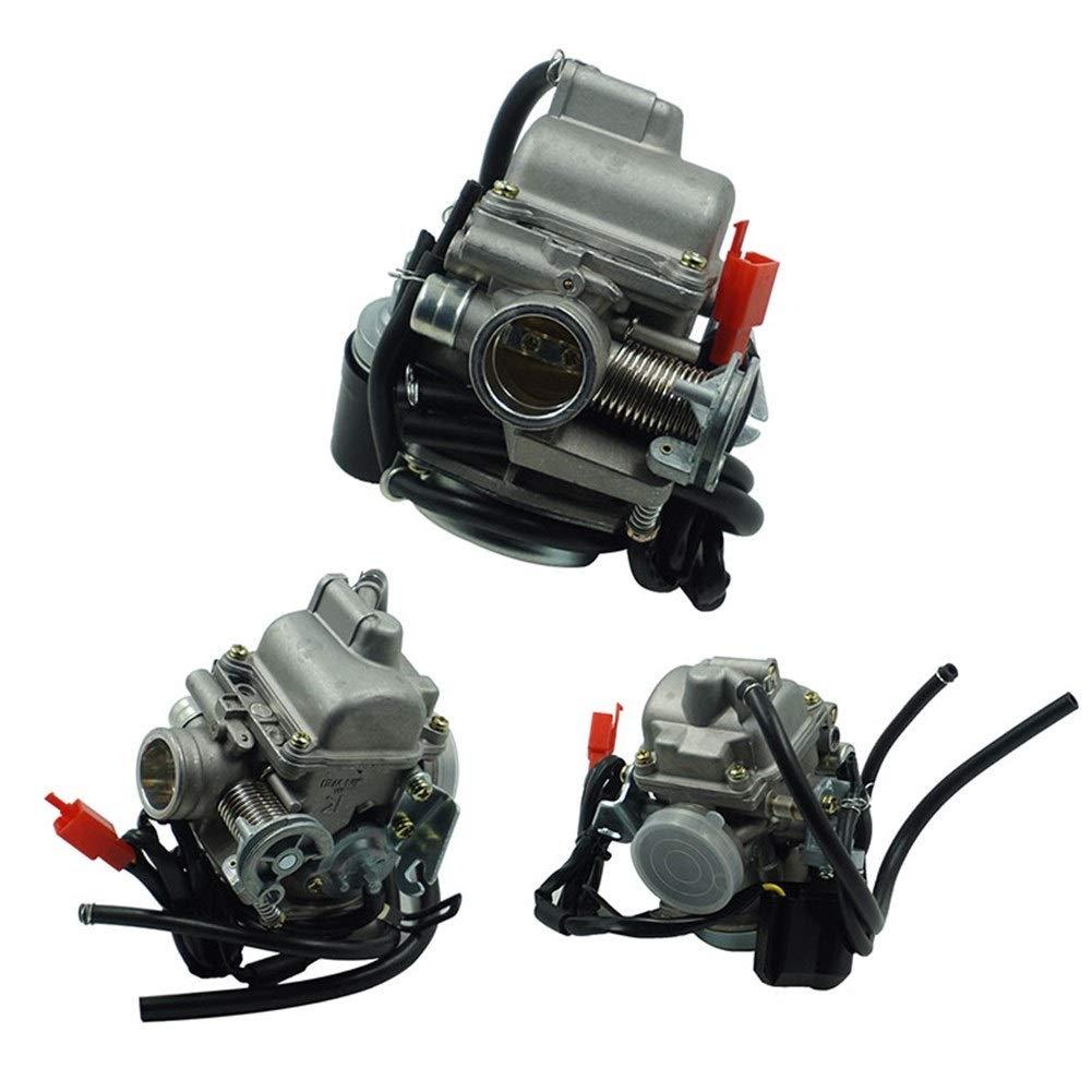 Angela shops Carburador de ciclomotor GY6 150 CC SCOOTER para ATV Gokart Roketa Taotao Sunl Tank