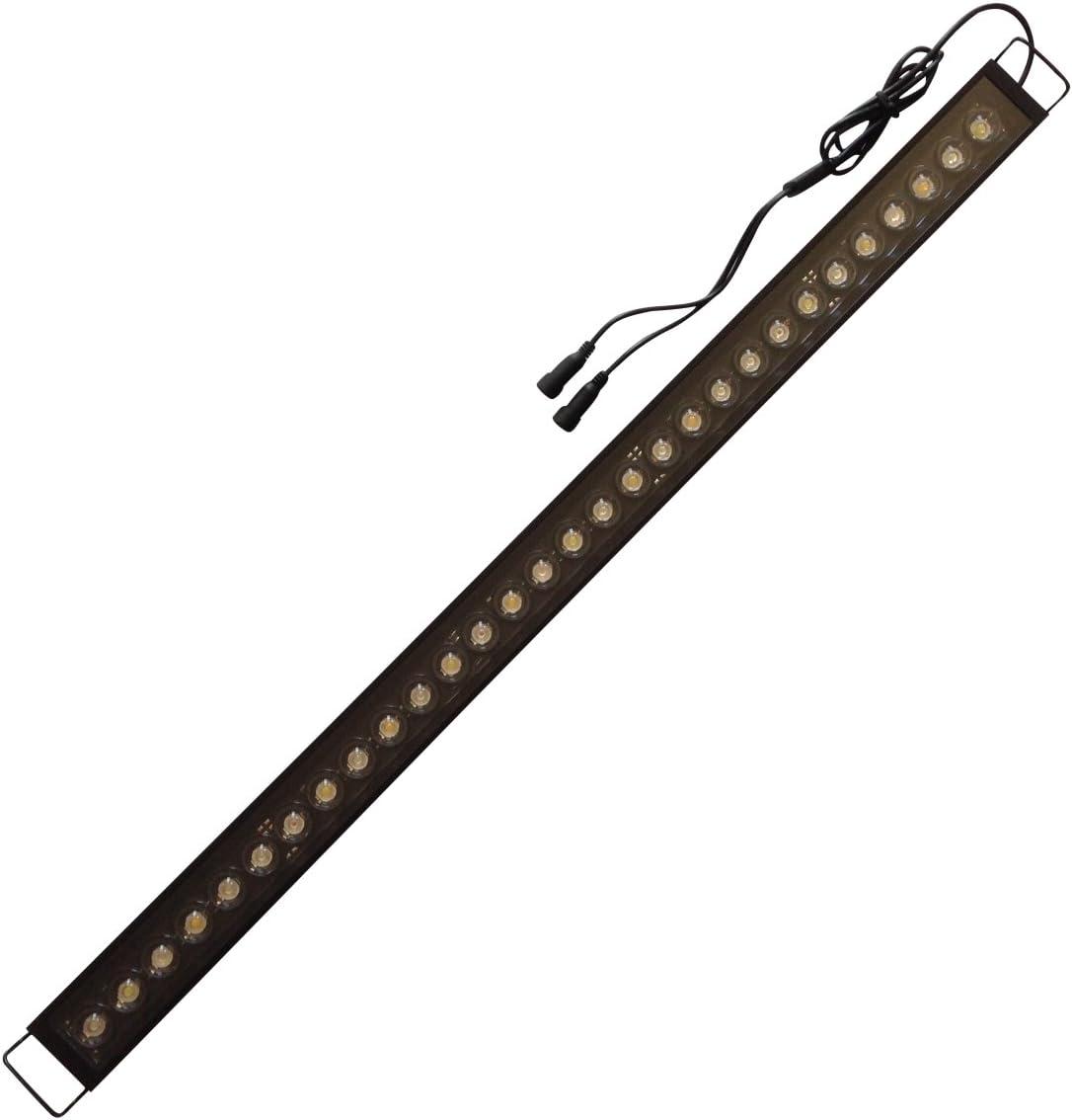 """Aquarium LED Light Bar 10/"""" ReefBar Pro 50//50 Blue//12k 10x 3W Bridgelux 5 10 gal"""