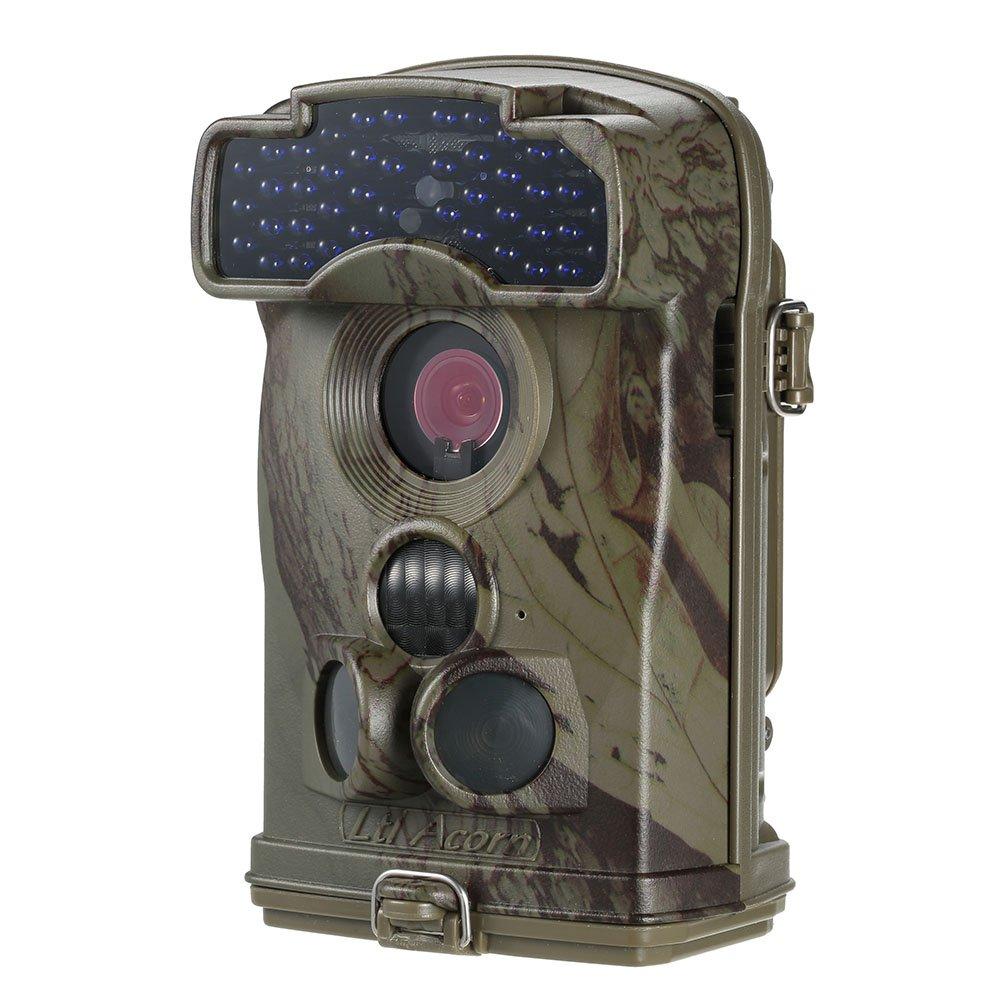 Docooler Wildkamera/Jagd Kamera, 1200M Pixel Wasserdichte Digitale Infrarot Nachtsicht Wasserdicht Wild HD Jagd Kamera Uberwachungs Kamera Jagdzeug, 100¡ã Weitwinkelobjektiv