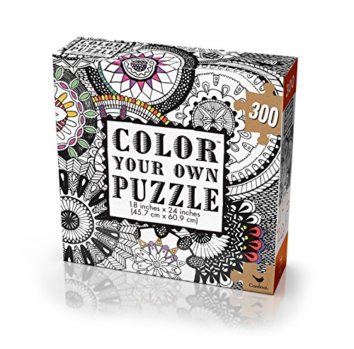 Cardinal Adult Coloring Puzzle Styles