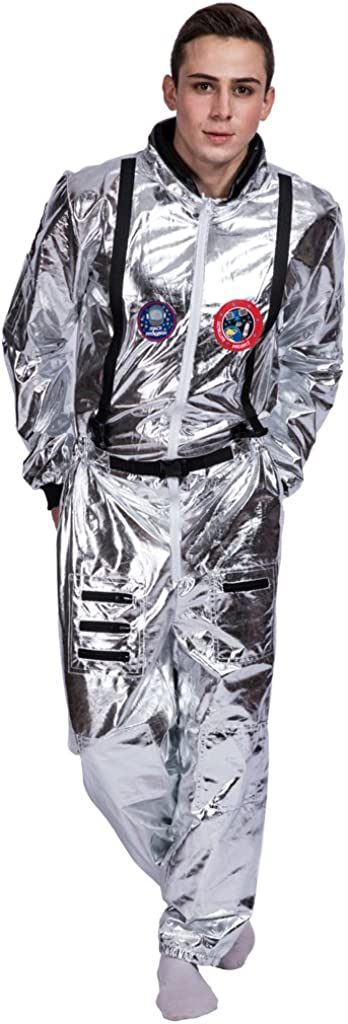 EraSpooky Men's Astronaut Spaceman Costume