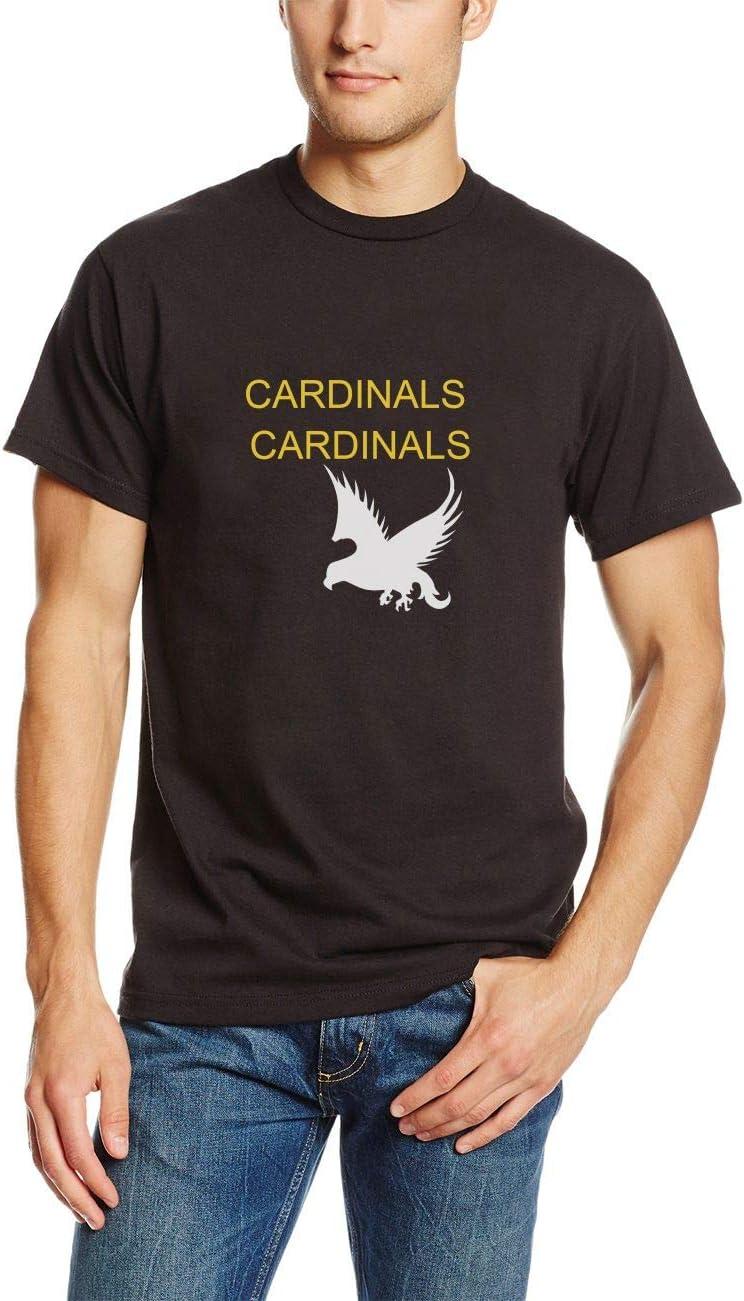 Camisetas Hombre Verano Camisas St. Louis Cardinals Big Boys tee para Hombre(Can Custom-Made Pattern) (Color : Negro, Size : 2XL)