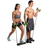 Sidhmart Abs Exercise Equipment Workout Home Gym, Professional AB Wheel Roller Supports