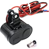Generic Waterproof 12V Motorcycle USB Power Supply Socket Charger