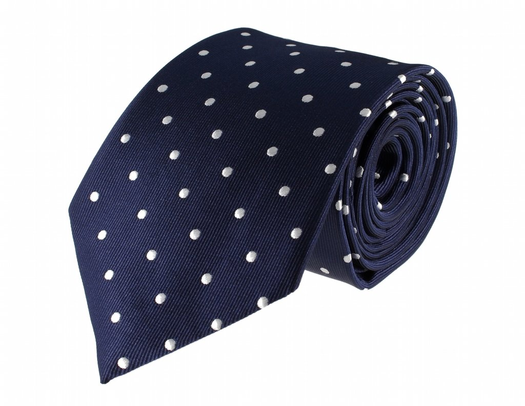 Glennbrook Mens Necktie The Professional Polka Dot Collection - Various Colors by Glennbrook