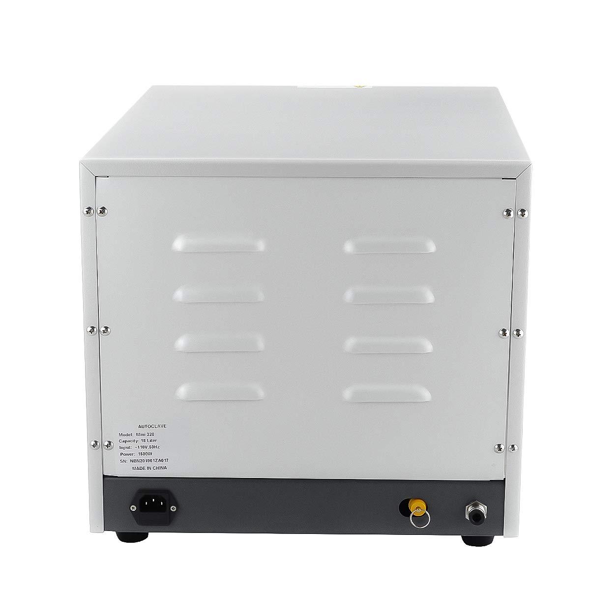 SOHOME 18L MINI320 Digital Display Autoclave Steam Lab Machine by SoHome (Image #8)