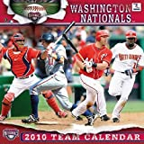 "WASHINGTON NATIONALS 2010 MLB Monthly 12"" X 12"" WALL CALENDAR"