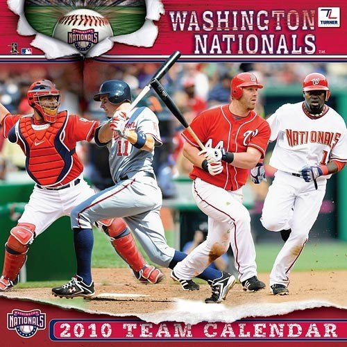 WASHINGTON NATIONALS 2010 MLB Monthly 12
