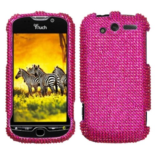 Reinforced Diamond Protector - Reinforced Diamond Phone Protector Cover Case Hot Pink For T-Mobile myTouch 4G