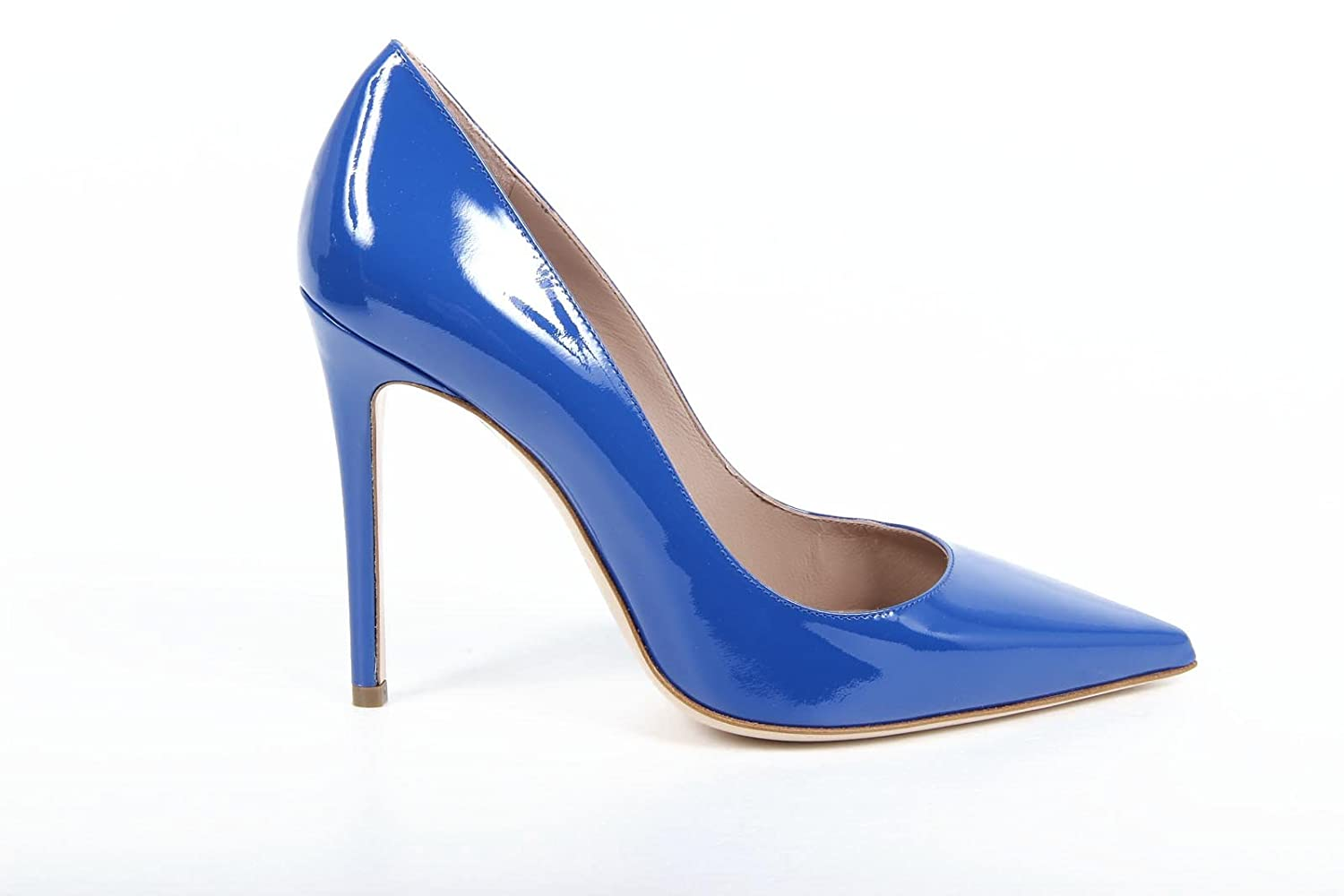 edfa545d5f8 Versace 19.69 Abbigliamento Sportivo Milano ladies pump 27903 VERNICE  BLUETTE  Amazon.co.uk  Shoes   Bags